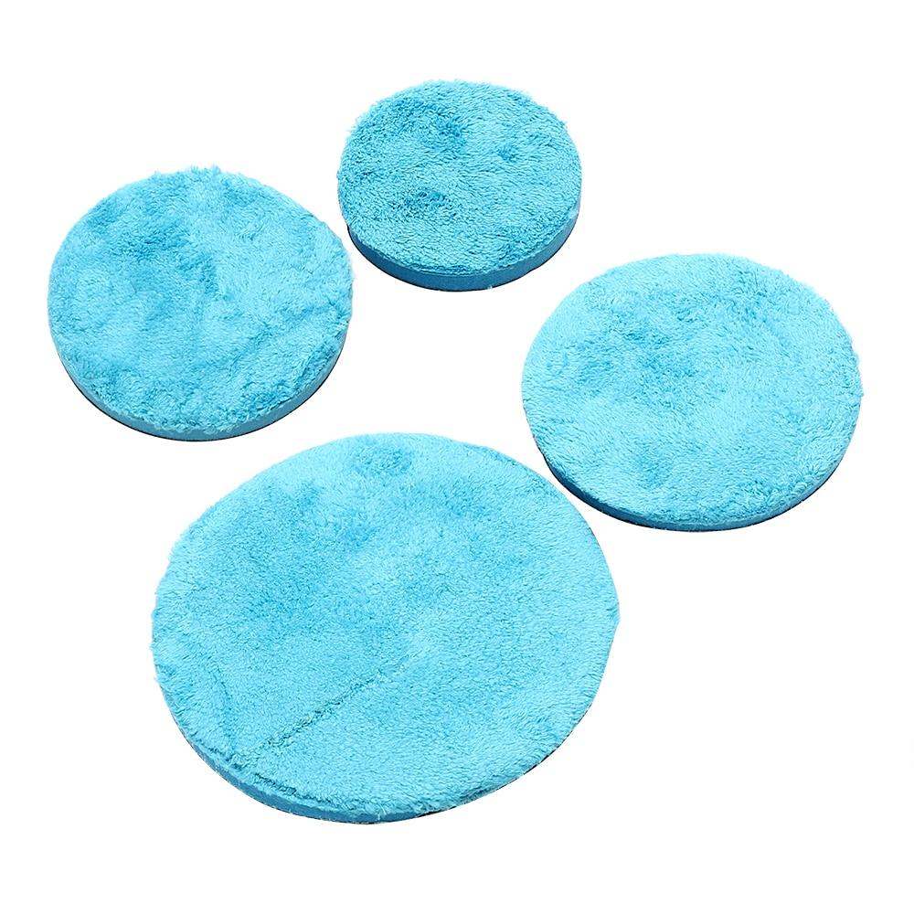 Washing Tool Auto Detailing Cleaning Sponge Microfiber for Wax Coating Polishing Car Sponge 4 5 6 7.5inch Car Care