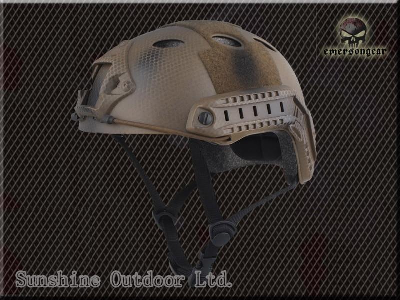Emerson FAST PJ Type Pararescue helmet military sports safety helmet Seals Edition emerson airsoft tactical fast protective helmet pararescue jump pj type kryptek mandrake em5668i