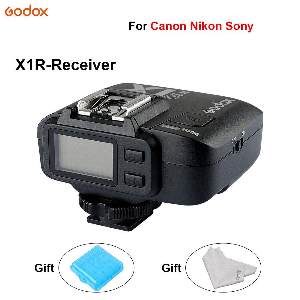 Godox X1R déclencheur de Flash TTL Flash contrôleur récepteur Sans Fil Déclencheur à distance Pour Canon Nikon Sony