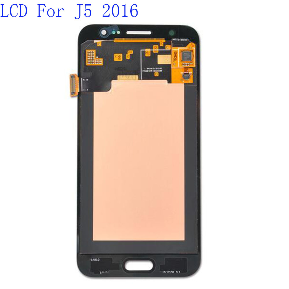 Amoled Replacement LCD Display For Samsung Galaxy J5 2016 LCD  J510 J510FN J510F J510Y J510M J510G  Digitizer Assembly  Tested