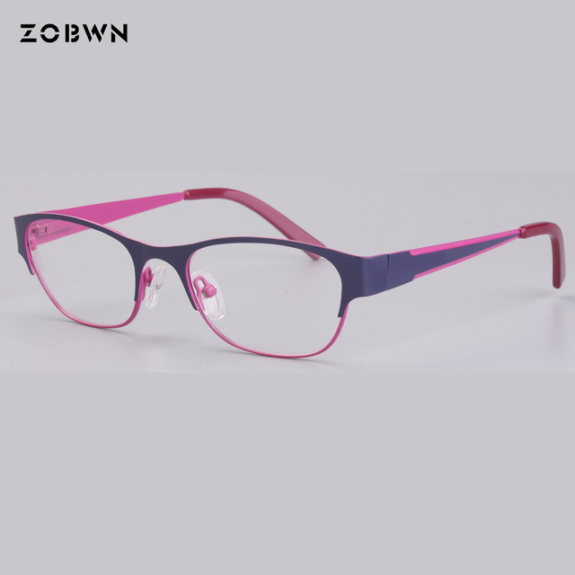 6260802c617 ZOBWN Baby Kids Eyewear Frames Child Safety Eye Glasses With Clear Lens  Soft Flexible Optic Frame For Myopia lens computer gafas