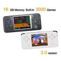 RS 97 Classic Retro Handheld Game Player Mini Video Game Console 3.0 inch Screen 16GB Portable Built in 3000 Games