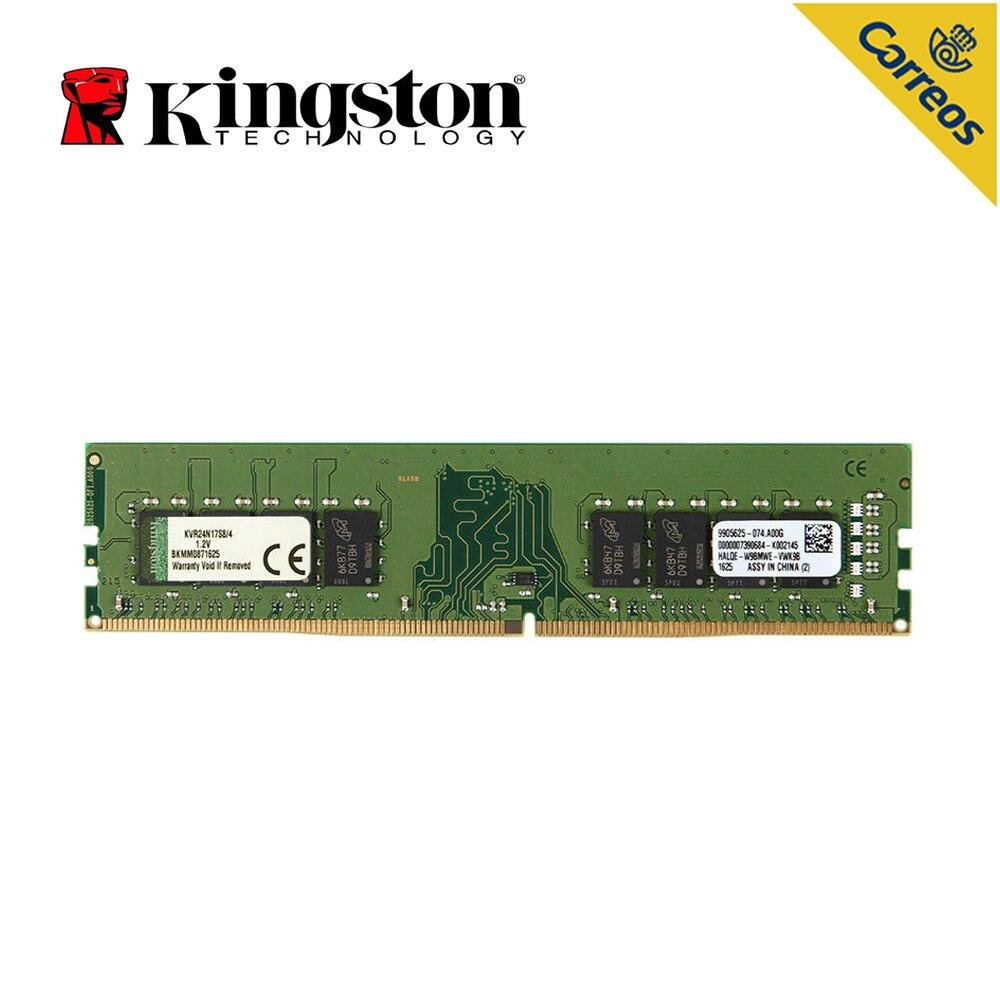 Kingston technologie valeur RAM 8 GB DDR4 2400 MHz Module 8 GB Intel mémoire de jeu 1.2 V 288 Pin PC mémoire pour ordinateur de bureau de mémoire bâtons