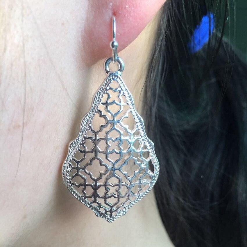 Abbie Addie Gold Drop Earrings 3