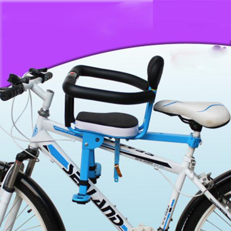 Free shipping 2018 New Children s Bicycle Seats For Electric Mountain Road Front Mat Child Safety
