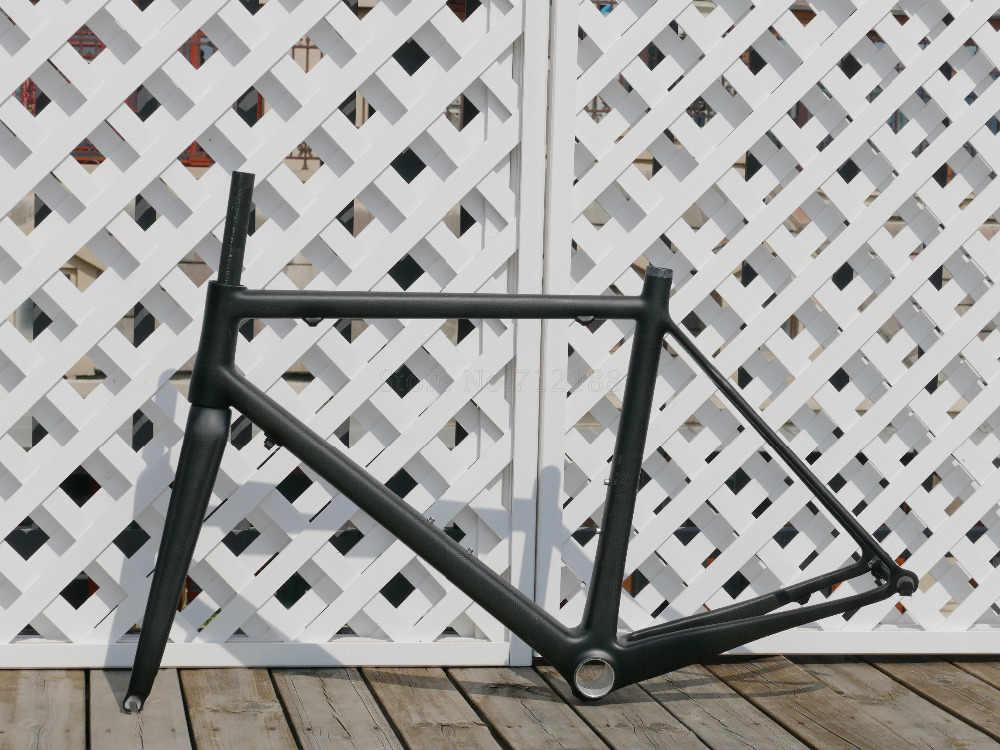 2019 # Toray carbone mat/brillant plein carbone vélo de course vélo de route vélo 700C cadre 52 cm inclus cadre + fourche