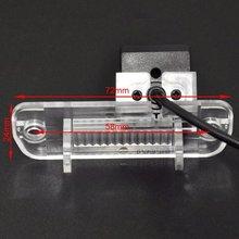 Заднего вида автомобиля Реверсивный Парковка Камера Ночное видение 4LED для Mercedes Benz C/E/CLS/w203/ w211/209/B200 A160 W219 gls 300