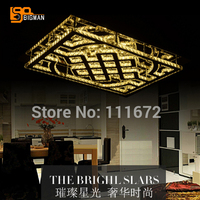 modern crystal lighting ceiling lamp led light fixtures with remote control