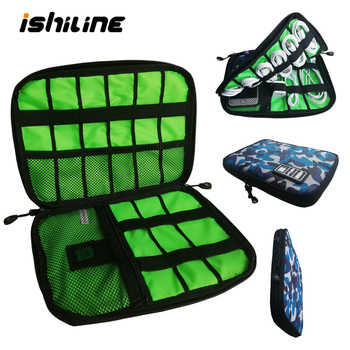 Gadget Organizer USB Cable Storage Bag Travel Digital Electronic Accessories Pouch Case USB Charger Power Bank Holder Kit Bag 1