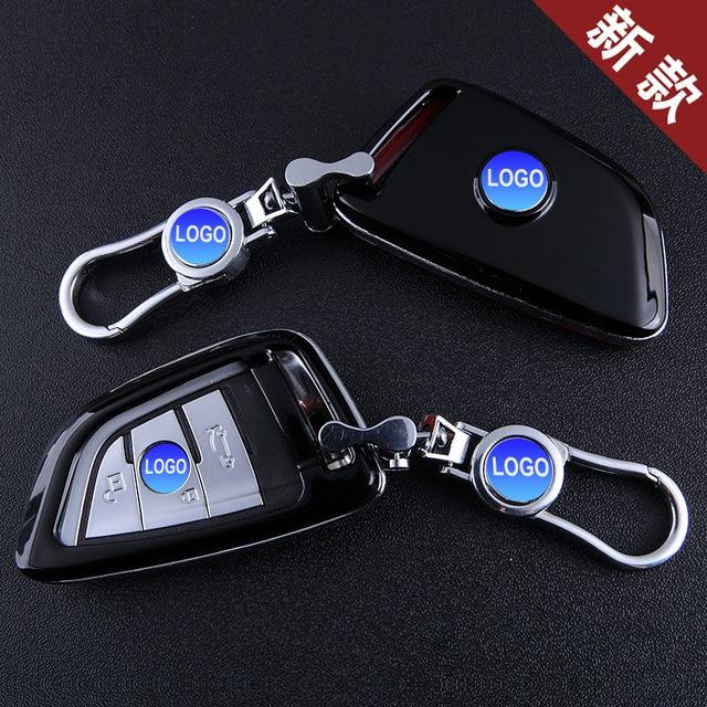 3 4 Кнопки Мягкий ТПУ Лезвие Sieries Smart Key Кольца Защиты Чехол для BMW X5 X6 Защиты Оболочки Стайлинга Автомобилей Обложка случае