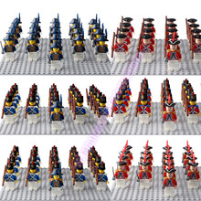 LegoING Army Marine Corps Minifigured Imperial Royal Guards With Gun Playmobil Building Blocks Children Gift Toys yamala imperial redcoat army soldier gun collectible building blocks children gift toys compatible with legoingly army soldiers