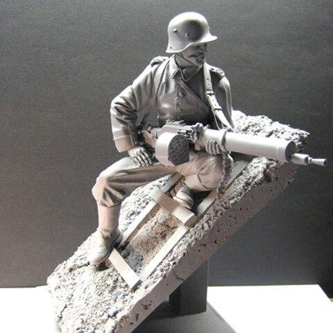 1/16 figurine en résine soldat modèle Empire allemand 20th régiment d'infanterie gk main à faire moule blanc 150