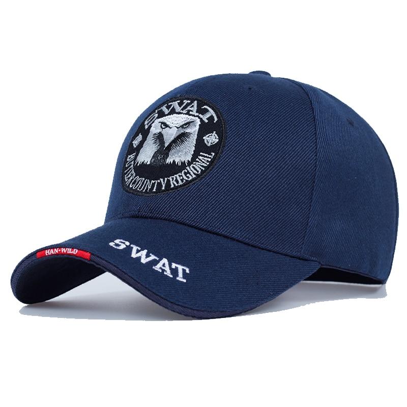 Мужская бейсбольная Кепка SWAT, Черная кепка с вышитым орлом, тактическая Кепка Snapback Bone Masculino|Мужские бейсболки|   | АлиЭкспресс