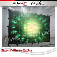 new innovation technology product P4 full color soft led display