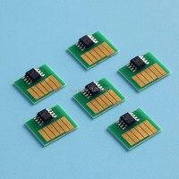 Chip compatível para canon w6200 w6400 bci1401 impressoras chip de chip do cartucho para canon bci 1401 impressora de tinta corante