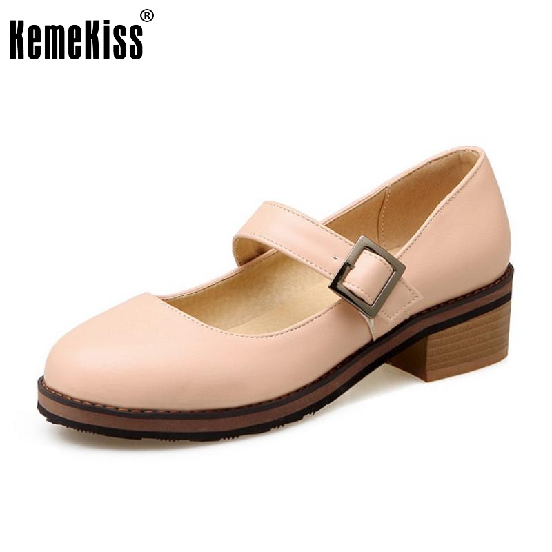 Size 33-42 Women's Flat Shoes Women Ankle-Strap Slip-on Flats Casual Pointed Toe Square Heel Flats Lady Sweet Candy Color Shoes size 32 43 fashion women s flat shoes women slip on round toe square heel flats laies simple casual sweet lace zapatos mujer