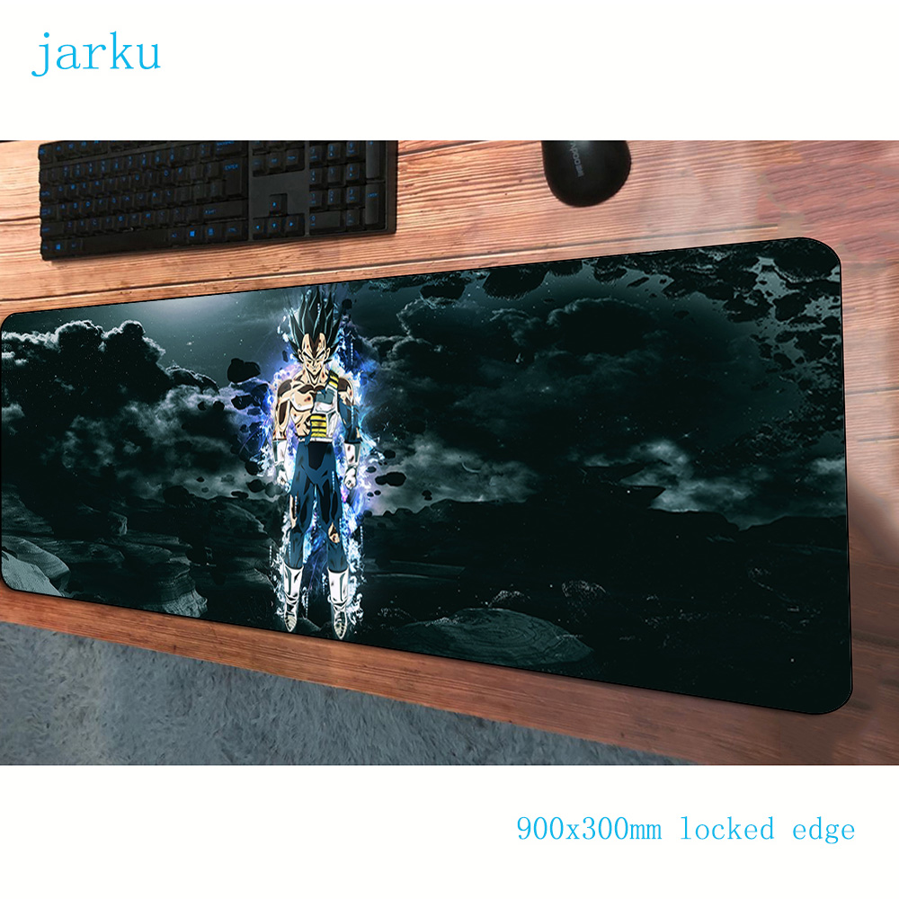 Dragon Ball Mouse Pad 900x300mm Mats Customized Computer Mouse Mat Gaming Accessories Personality Large Mousepad Keyboard Gamer