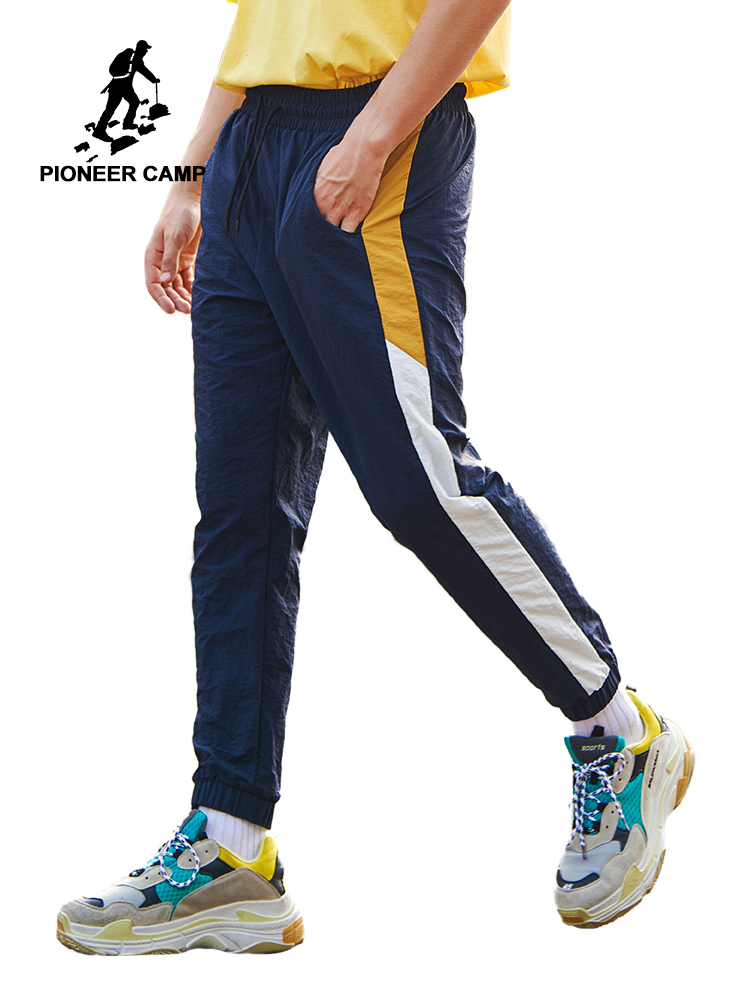 Pioneer Camp New Casual Pants Men Brand-clothing Simple String Trousers Male High Quality Slim Fit Pants For Male AXX901031