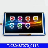7-inch USART HMI configuration screen with a font bank serial port TFT LCD display module 800 * 480