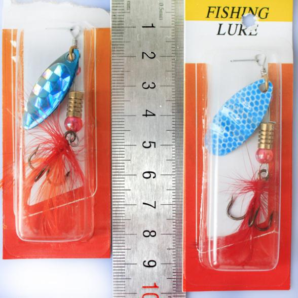 Free Shipping Fishing Lure bait hard spoon bait fishing tackle spinner artificia bait flyfishing lures