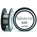 Nichrome wire 32 Gauge 100 FT 0.2mm Cantal Resistance Resistor AWG