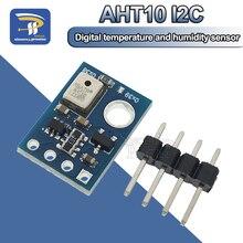 AHT10 Высокоточный цифровой датчик температуры и влажности измерительный модуль IEC связь заменить DHT11 SHT20 AM2302