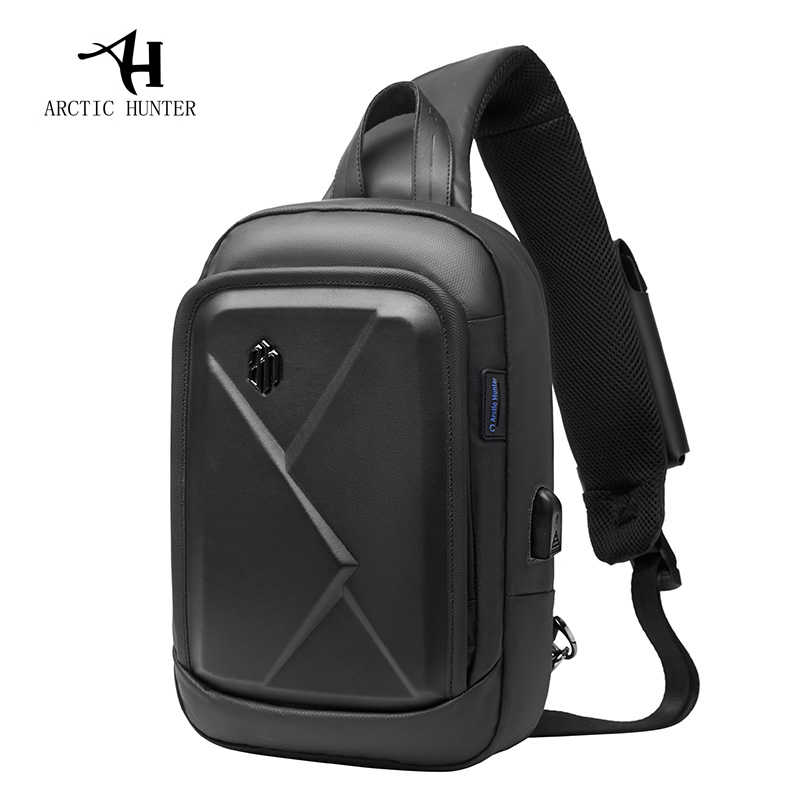ARCTIC HUNTER New men's chest bag shoulder bag casual Messenger bag youth business travel large capacity multi-function bag