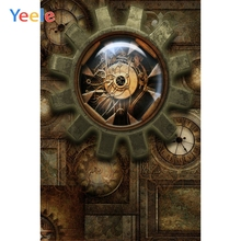 Yeele Steam Punk Retro Gear Photographic Backgrounds Birthday Party Children Portrait Photography Backdrops For The Photo Studio