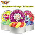 Intelligent Creative Hand Gum Temperature Change Turns Color Slime Silly Putty light Clay Fimo Plasticine Mud Doh Toys Kids Gift
