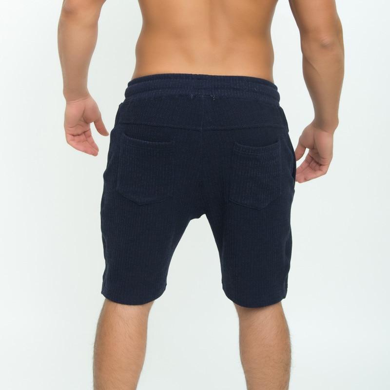 Taddlee Brand Polyester Mens Shorts Active Jogger Sweatpatns Gasp Short Bottoms Fitness Cargo Boxer Trunks Calf-Length