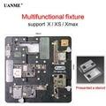 UANME Telefon Reparatur Kit Motherboard Leuchte Für iPhone X XS XMAX CPU Chip Reparatur Werkzeuge PCB Halter jig mit Magnet gute Stabilität