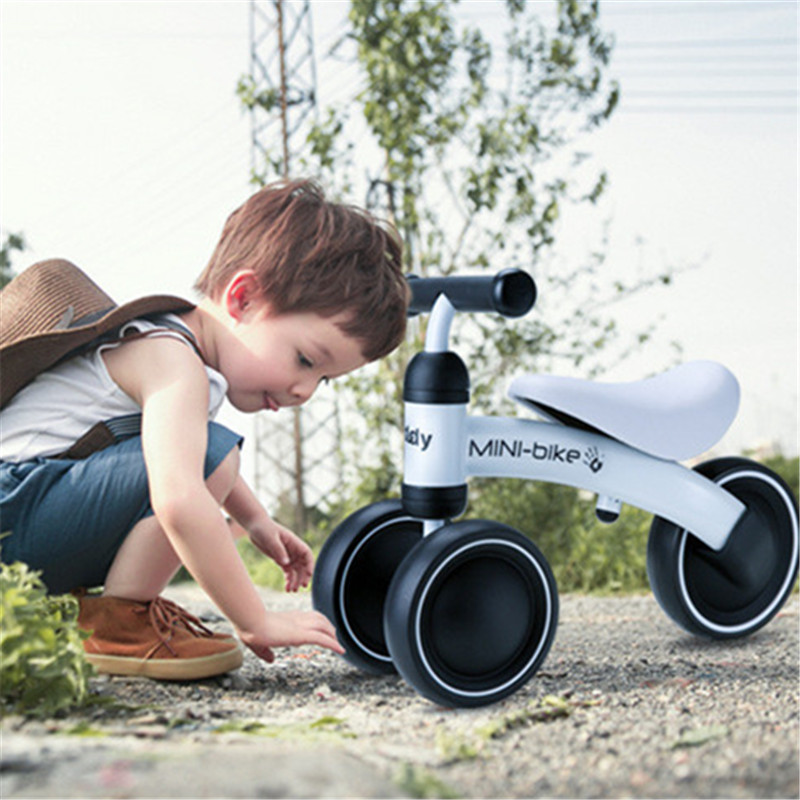 Three Wheel Children Balance Bikes Outdoor Baby Walker Infant 1-3years Baby Walker Scooter No Foot Pedal Driving Bike new children three wheel balance car scooter foldable no foot pedal child swing car twist car baby walker tricycle riding toys