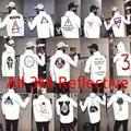All 3M Reflective Men Women Jacket Windbreaker High Quality Hoodie  RIPNDIP SUPREMITIED Brand Clothing Diamond Bomber Thick Coat