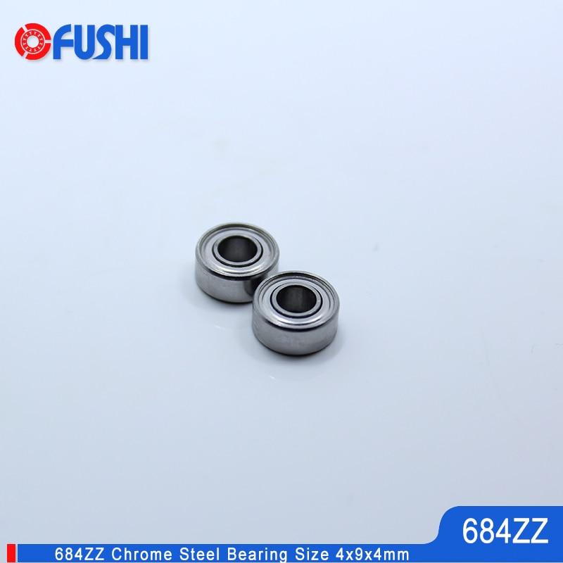 684Z 684ZZ 684 Z 684 ZZ Deep Groove Ball Bearing 4mm x 9mm x 4mm 50 Pcs