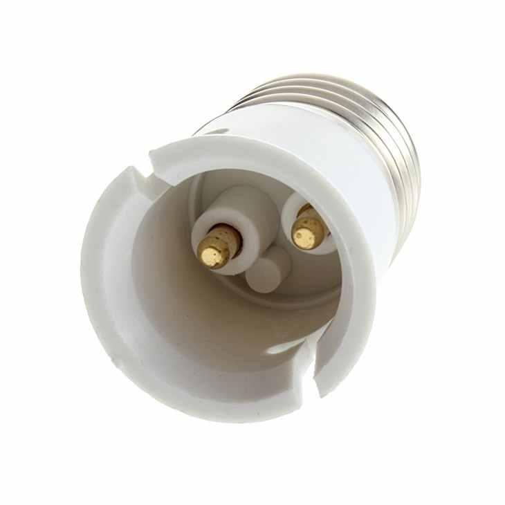 1 個 E27 に B22 ソケット電球ランプホルダーアダプターホルダーブランド est スタイリッシュな