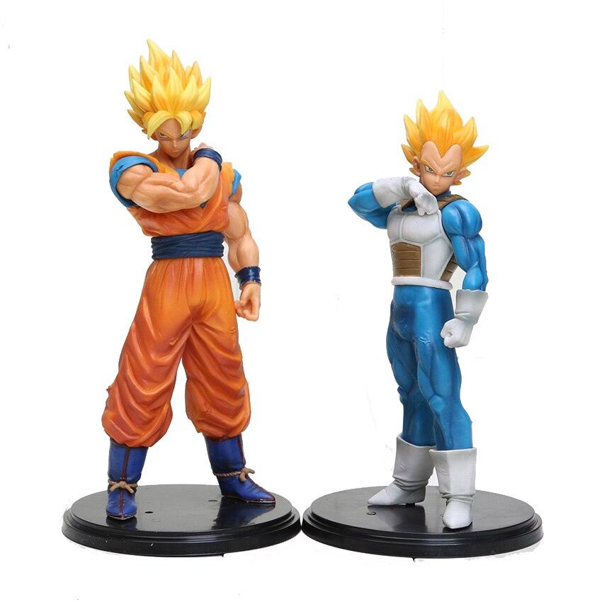 Dragon Ball Z Auflösung Von Soldaten ROS Super SaiYan Vegeta Goku 18 CM/7