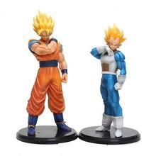 """Resolução De Soldados ROS De Dragon Ball Z Super SaiYan Vegeta Goku 18 CM/7 """"Em PVC Modelo Figura brinquedo"""