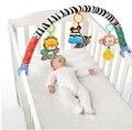SOZZY Cama Carrinho de Bebê Pendurado Brinquedos chocalhos Berço Para Pequenos Berços assento bonito Carrinho de pelúcia Presentes 88 CM Zebra Móvel chocalhos