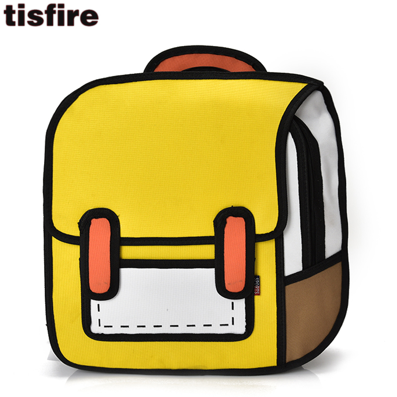 b59620f9a2 3d backpack fashion funny backpacks for teenagers girl and .