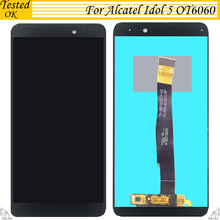 For Alcatel idol 5 OT6060 OT 6060 LCD Display Touch Screen Digitizer Tested Well Assembly M