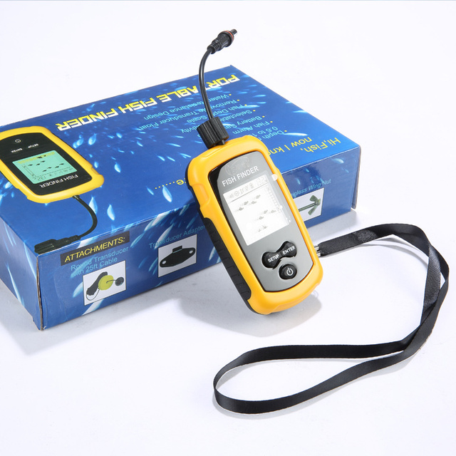 aliexpress : buy chinese version of the high precision sonar, Fish Finder