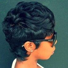 Short Brazilian Hair Wholesale Cheap Brazilian Hair Weave Closure Short Hair Style Bump Hair Styles Weave 27pcs For Black Women