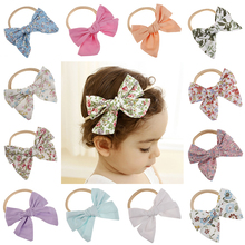 Fashion multicolor hairband for  girls Bow Knot Head Bandage Toddlers Headwear headBand Infant Clothing Accessories headdress
