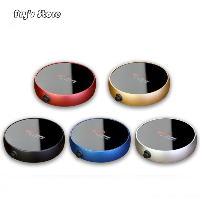 Electric Heating Coasters Water Heater Portable Desktop Coffee Milk Tea Warmer Heater Cup Mug Warming Trays 5 Colors Home Office-in Electric Heaters from Home Appliances