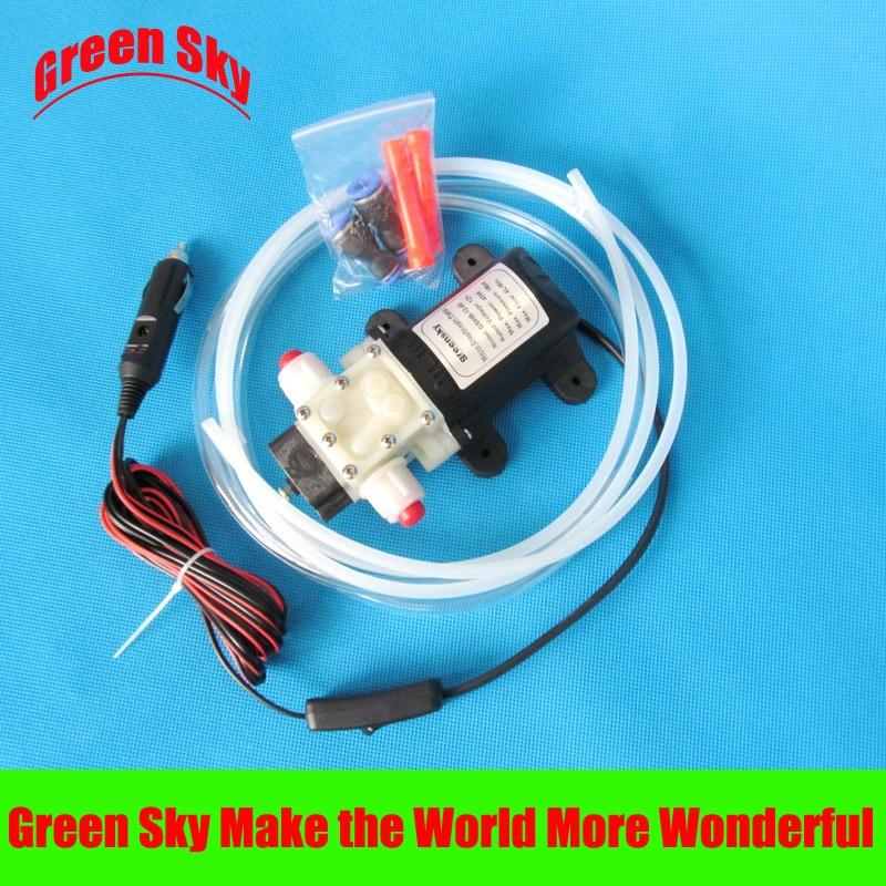 vehicle mounted kits cigarette lighter type self-priming portable oil water diesel pump 12v