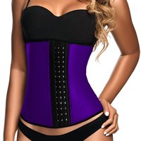 Hot Body Shaper Underbust Steel Bone Waist Shaper Corset Waist Trainer Women Waist Cincher Slimming Belt