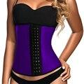 9 pcs látex trainer cintura cintura shaper do espartilho do osso de aço shapewear corset mulheres cintura cincher body shaper cinto de emagrecimento quente cinto
