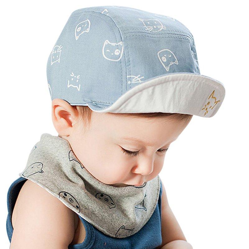 3db6de04550 Infant Toddler Cute Baby Kids Cat Cap Hat Bonnet Cotton Outdoor Dress Sun  Hats 4M 18M-in Hats   Caps from Mother   Kids on Aliexpress.com