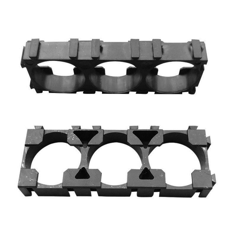 HOT 50 Pcs 1x3 Cell Spacer 18650 Li-ion Battery Holder  Plastic Radiating Shell Rack Cylindrical Batteries Bracket Fixture LSF99