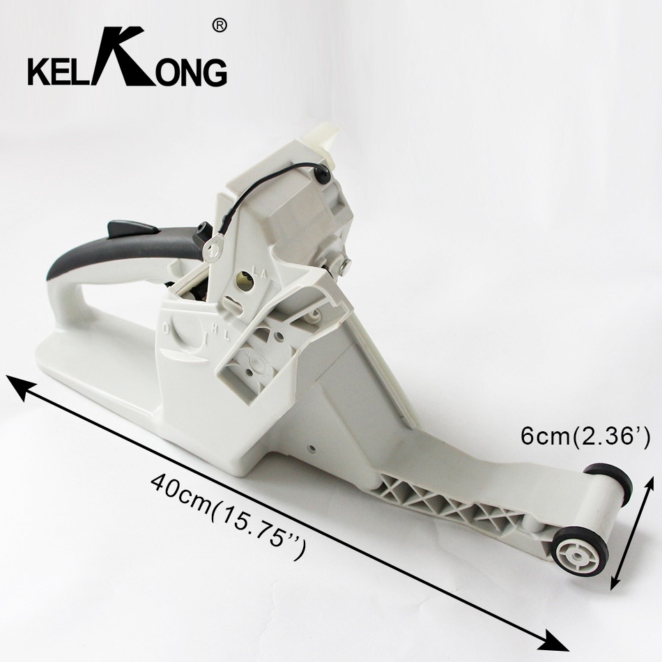 KELKONG Gas Fuel Tank Rear Handle Fit For Stihl 038 038AV 038 Magnum MS380 1119 350 0852 Carburetor Chainsaw bing 48 carburetor carb repair gasket kit for stihl ms380 ms381 038 and some 066 064 chain saw spare parts 1119 007 1062